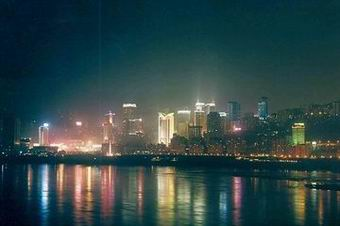 The famous Chongqing night view